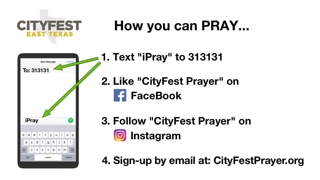 CityFest Prayer Team   89 5 KVNE
