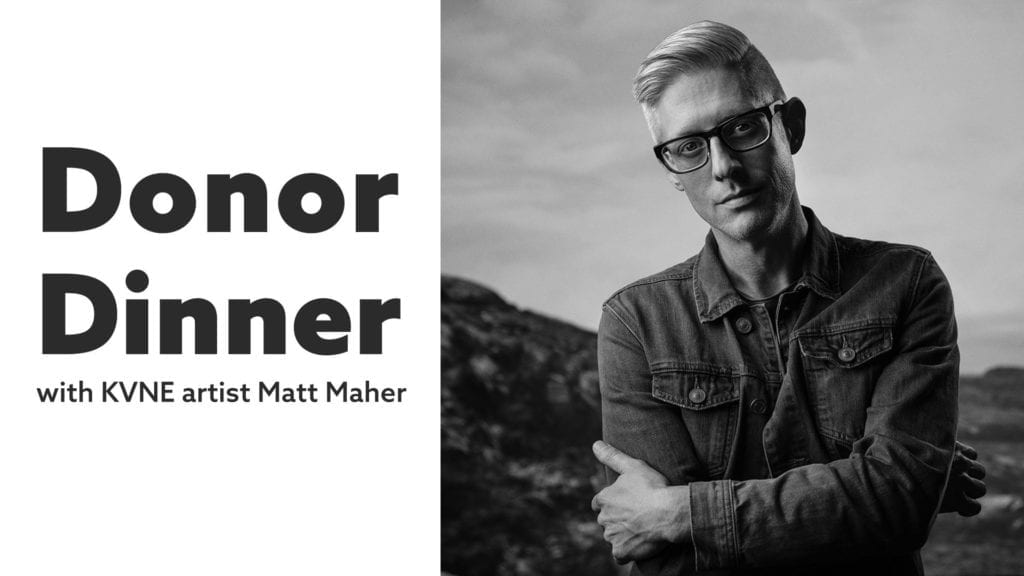 Donor Dinner with Matt Maher